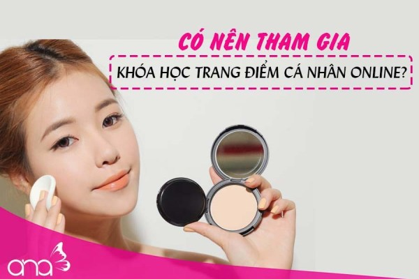 học make up online